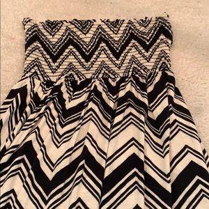 Dresses - Strapless maxi dress